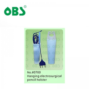 Hanging electrosurgical pencil holster
